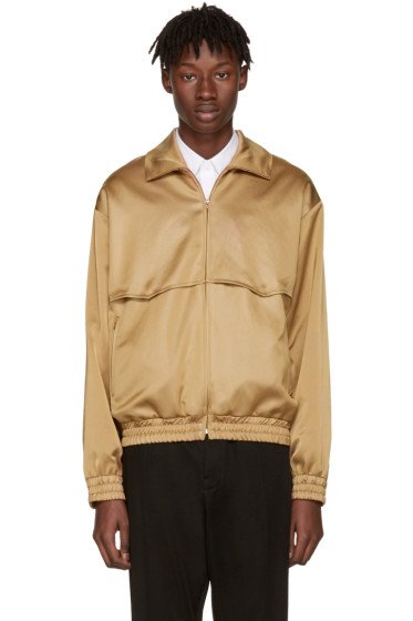 CMMN SWDN - Camel Rodeo Track Jacket