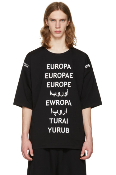 UEG - Black Refugee T-Shirt