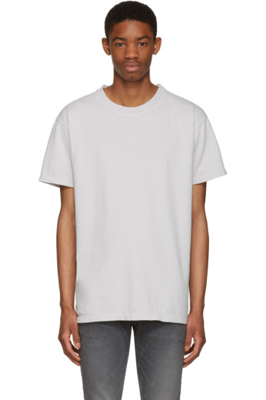 John Elliott - Grey Oversized T-Shirt