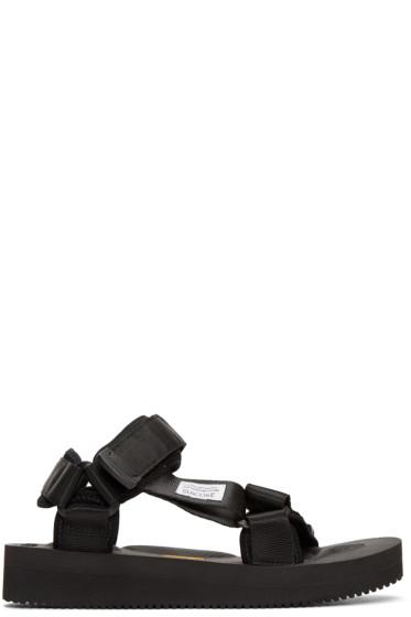 Suicoke - Black Depa-V Sandals
