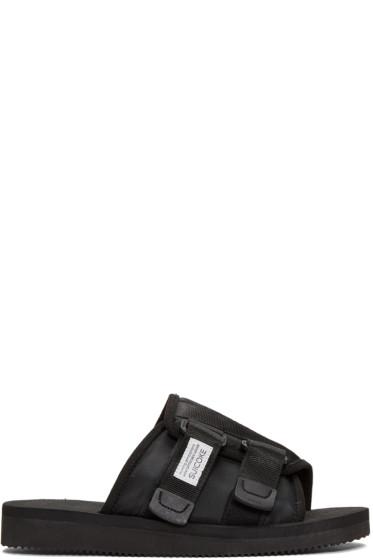 Suicoke - Black Kaw Sandals