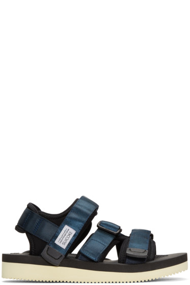 Suicoke - Navy Kisee Sandals