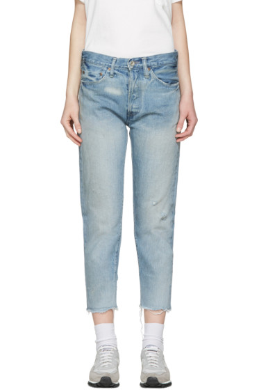 Chimala - Blue Selvedge Narrow Tapered Jeans