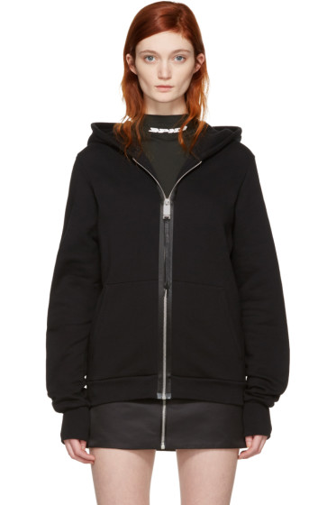 Alyx - Black Zip-Up Hoodie
