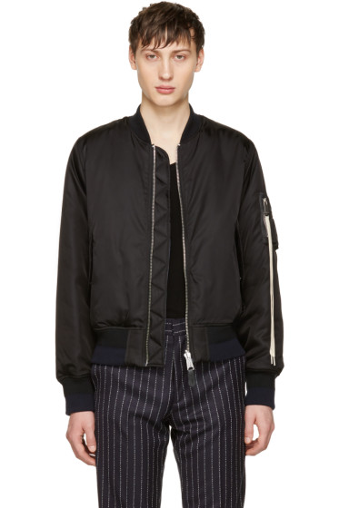 Alyx - Reversible Black fragment Edition Bomber Jacket