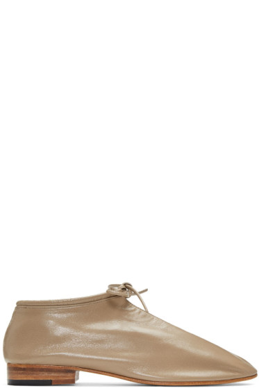 Martiniano - Taupe Bootie Oxfords