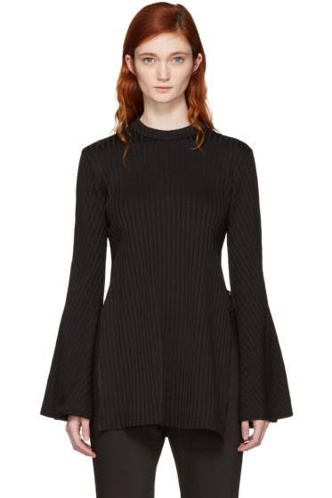 Ellery - Black Teddy Girl Top