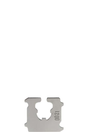 Lauren Klassen - Silver Bread Clip Ear Cuff