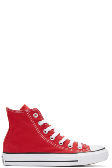 Converse - Red Classic Chuck Taylor All Star OX High-Top Sneakers