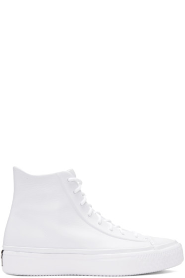 Converse - White Chuck Modern Lux High-Top Sneakers
