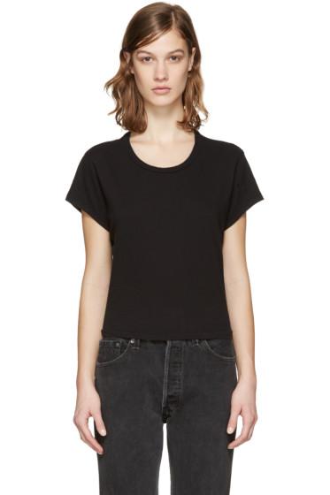 Re/Done - Black 1950's Boxy T-Shirt