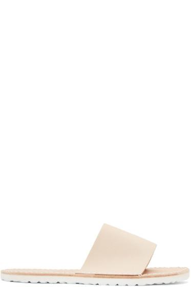 Hender Scheme - Beige Atelier Slipper Sandals