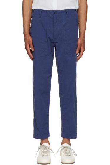 Ganryu - Navy Twill Trousers