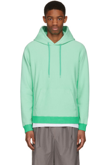 Ganryu - Green Cotton Hoodie