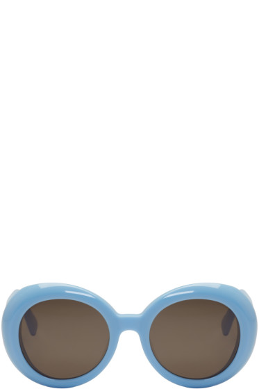 Gentle Monster - Blue 'Red Pocket' Sunglasses
