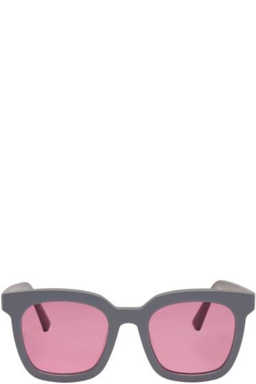Gentle Monster - Grey Finn Sunglasses