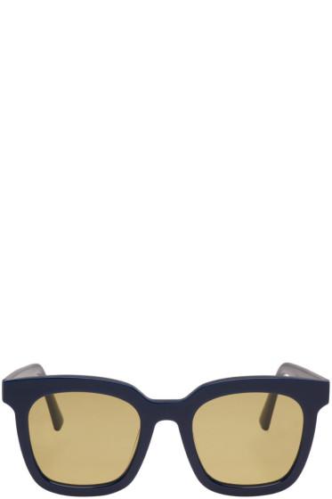 Gentle Monster - Navy Finn Sunglasses