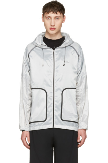 ISAORA - Grey XYTLITE Running Windbreaker Jacket