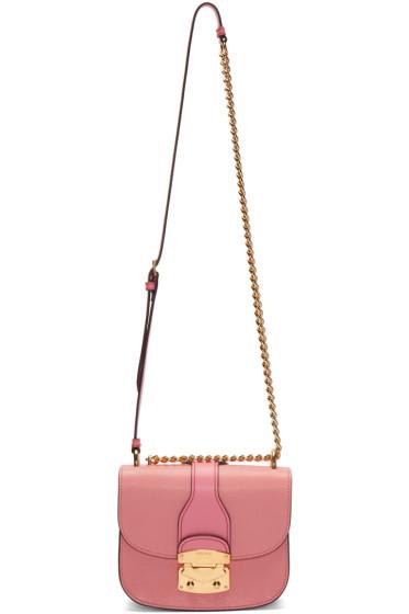 Miu Miu - Pink Classic Lock & Chain Bag