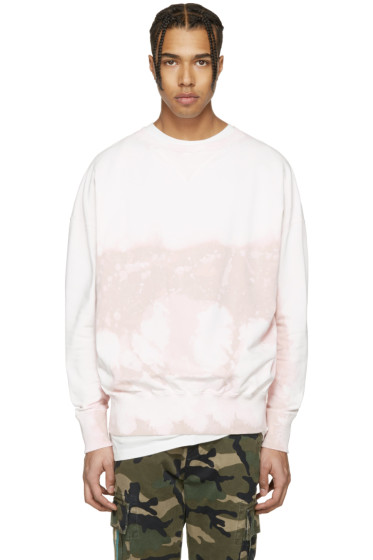 Faith Connexion - Pink Distressed Tie-Dye Pullover