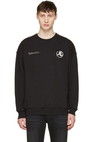 Richardson - Black Glyph Logo Pullover