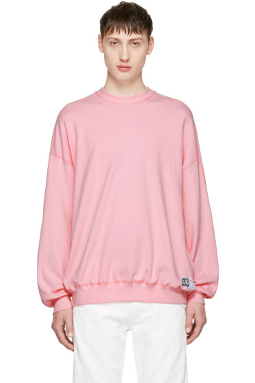 Richardson - Pink Simple Sweatshirt