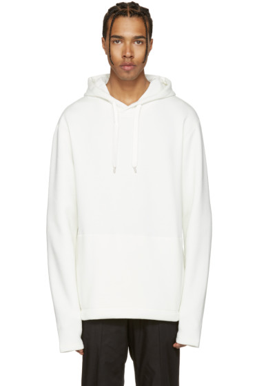 Tiger of Sweden Jeans - White Boogie Hoodie