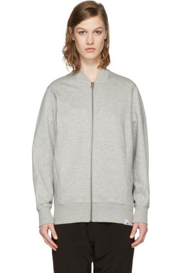 adidas Originals XBYO - Grey Yamaho Terry Track Jacket