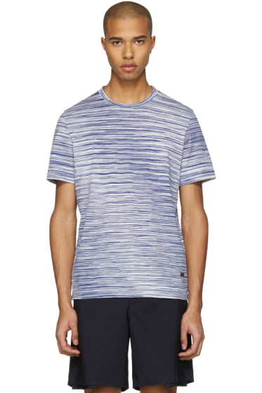 Missoni - Blue Striped T-Shirt