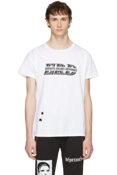 Enfants Riches Déprimés - White Alt Logo T-Shirt