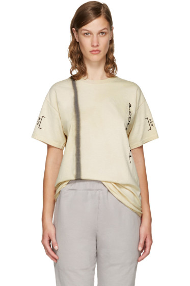 A-Cold-Wall* - Beige Signature T-Shirt