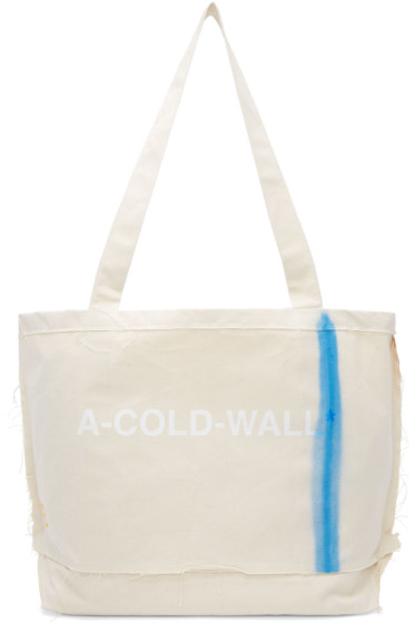 A-Cold-Wall* - Ecru Industrial Cement Tote