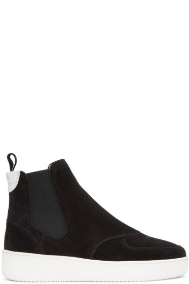 Aime Leon Dore - Black Chelsea High-Top Sneakers