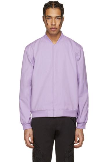 Rochambeau - Purple Moroc Bomber Jacket