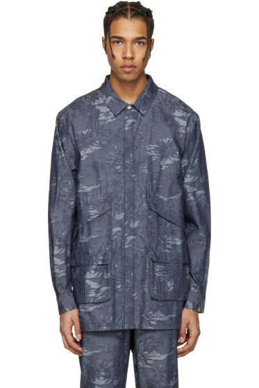 Rochambeau - Blue Chambray Paradise Pocket Shirt