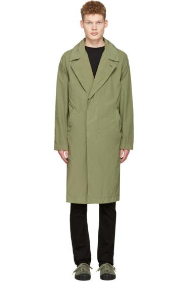 Saturdays NYC - Green Malmo Trench Coat