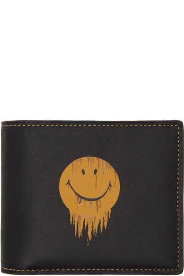 Coach 1941 - Black Baseman Edition Gnarly Face Three-in-One Wallet
