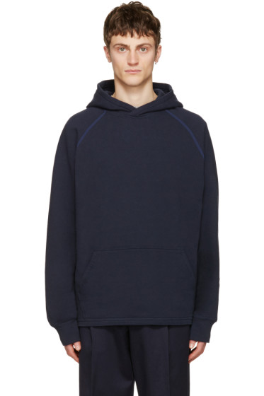 Childs - Navy Cut-Off Hoodie