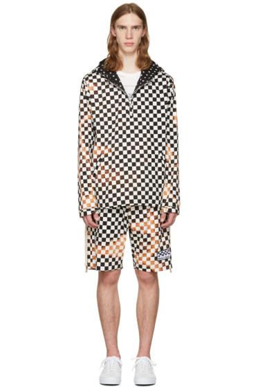 Herman - Black & White Checker Pullover Jacket