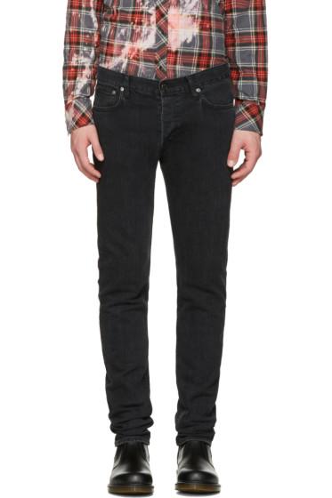Herman - Black Vintage Slim Rocker Jeans