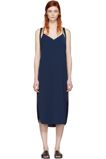 Kuho - Navy Sika Slip Dress