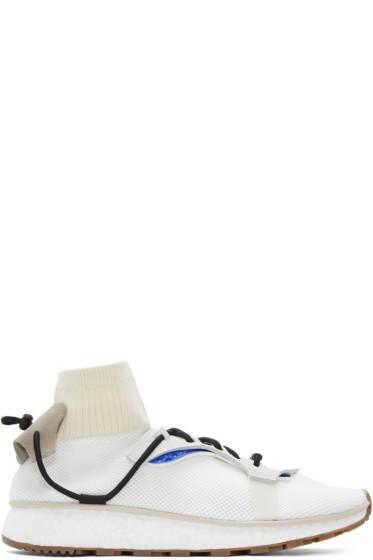 adidas Originals by Alexander Wang - White Run Sneakers