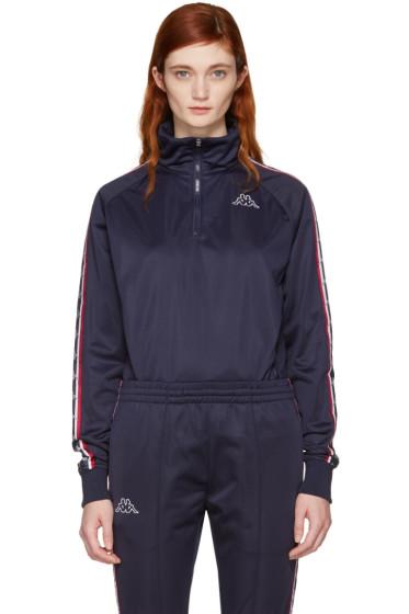 Kappa - SSENSE Exclusive Navy Track Jacket