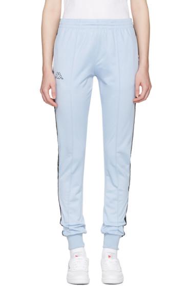 Kappa - SSENSE Exclusive Blue Logo Track Pants