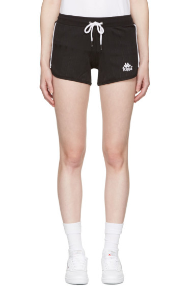 Kappa - Black Pitstop Shorts
