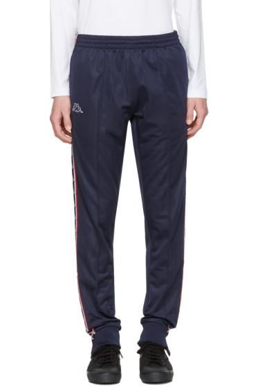 Kappa - SSENSE Exclusive Navy Track Pants