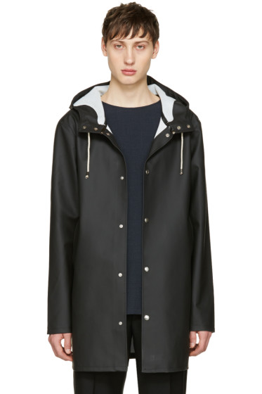 Stutterheim - Black Stockholm Raincoat