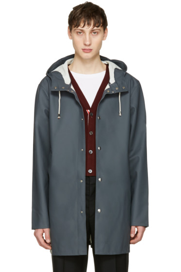 Stutterheim - Grey Stockholm Raincoat