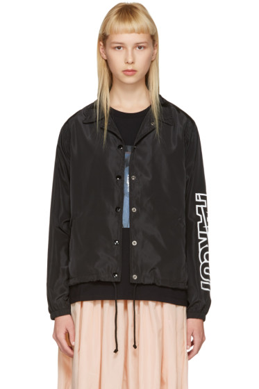 Ashley Williams - Black 'Haircut' Coach Jacket