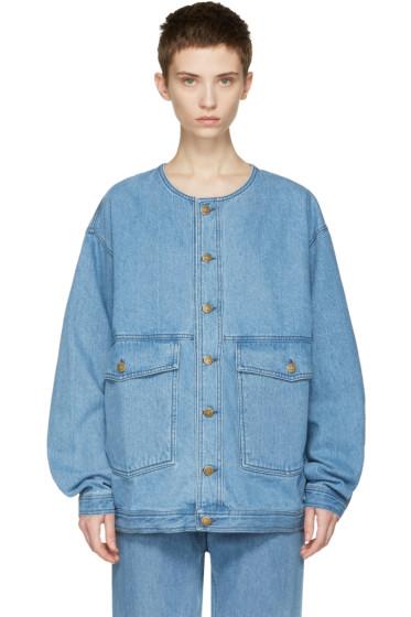 69 - Blue Denim Jean Jacket